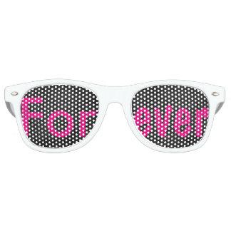 Wedding, Bride, Bachelorette, Forever, Favors 80's Retro Sunglasses