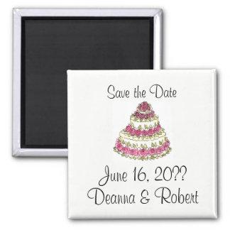 Wedding Cake Magnet