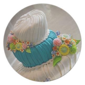 Wedding cake print plate