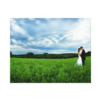 Wedding Canvas Canvas Print