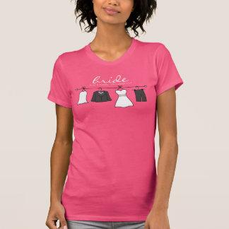 Wedding Clothes (Bride & Groom) Bride T Shirt