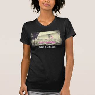 Wedding Couple in a Retro Style Fifties Diner Tshirt