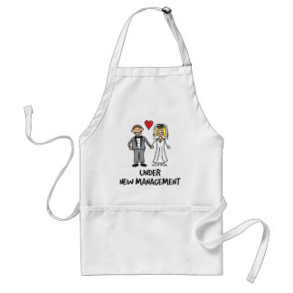 Wedding Couple - Under New Management Standard Apron