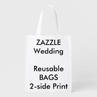 "Wedding Custom 12"" x 16"" Reusable Bag"