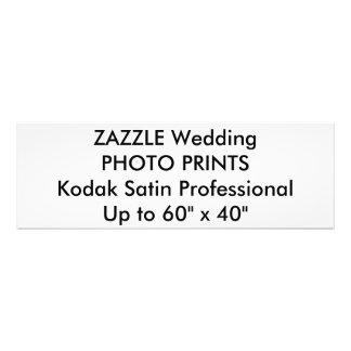 "Wedding Custom 36"" x 12"" Professional Photo Prints"