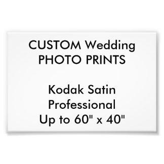 "Wedding Custom 6"" x 4"" Professional Photo Prints"