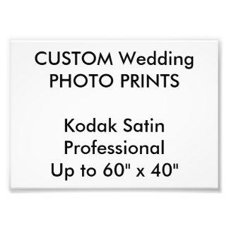 "Wedding Custom 7"" x 5"" Professional Photo Prints"