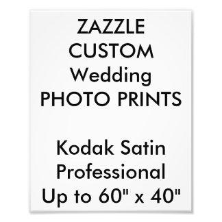 "Wedding Custom 8"" x 10"" Professional Photo Prints"