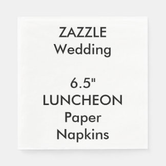 Wedding Custom LUNCHEON Disposable Paper Napkins