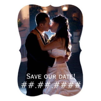 Wedding Date - Save our date! Card