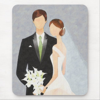 Wedding Day Mouse Pad