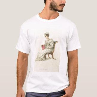 Wedding dress, fashion plate from Ackermann's Repo T-Shirt