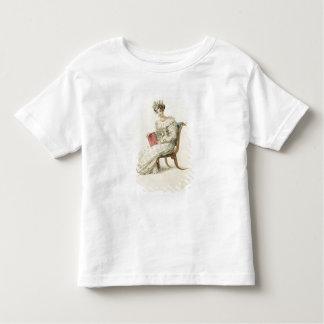 Wedding dress, fashion plate from Ackermann's Repo Toddler T-Shirt