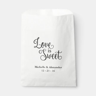 Wedding Favor Bags - Love is Sweet Favour Bags