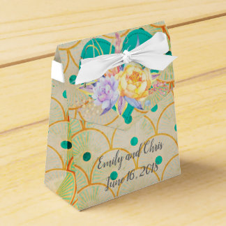 Wedding Favor in Tourquise Favour Box