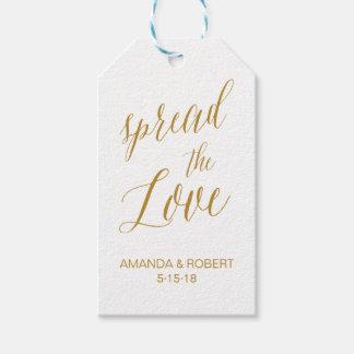 Wedding Favor Tag | Spread the Love