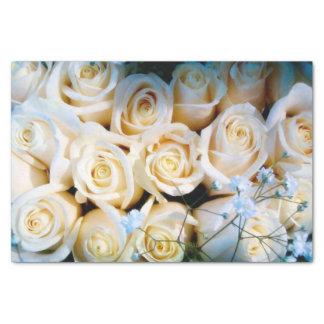 Wedding flowers tissue paper