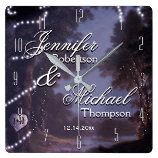 Wedding Gift Rustic Country Clocks