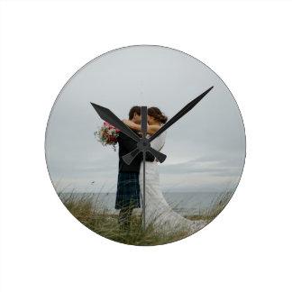 Wedding Gifts Round Clock