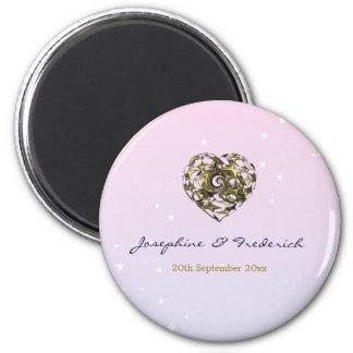 Wedding Heart Magnet