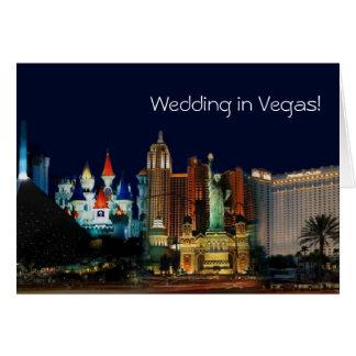 Wedding in Vegas! Card