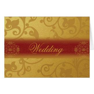 Wedding Invitation Card Folded Indian styles
