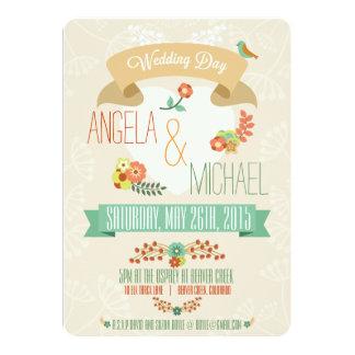 Wedding Invitation (Floral)