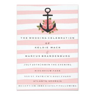 Wedding Invitation | Romantic Nautical