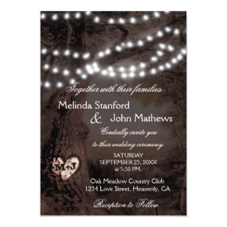 Wedding Invitation | Tree of Lights
