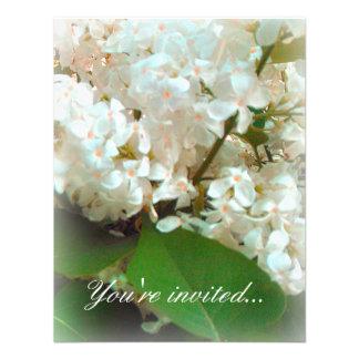 Wedding Invitation - White Lilacs Custom Announcements