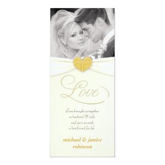 Wedding Invitations - Contemporary with Photo
