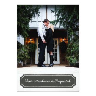 Wedding Invitations, custom photo Card