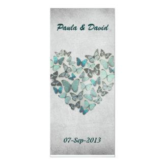 Wedding Itinerary Card