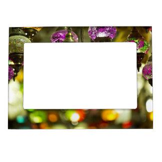 Wedding light purple  lights  magnetic  frame