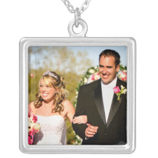 Wedding Photo Necklace