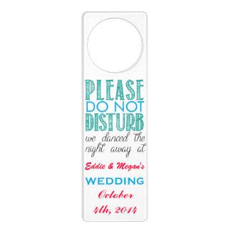 Wedding - Please do not disturb Door Hanger