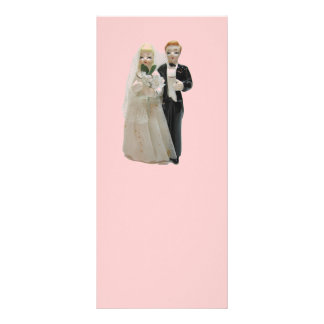 Wedding Rack Cards with Vintage Cake Topper
