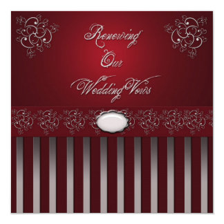 Wedding RENEWAL VOWS CEREMONY INVITATIONS