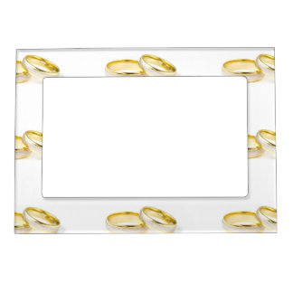 Wedding Ring Magentic Frame Magnetic Frames