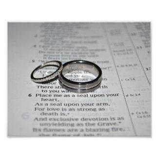 Wedding Rings Fine Art Print