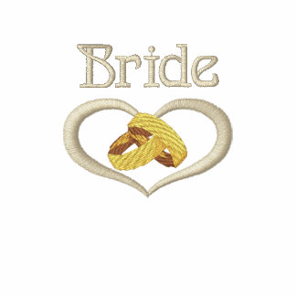 Wedding Rings Heart - Bride
