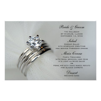 Wedding Rings Menu