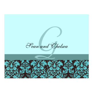 Wedding RSVP Card Postcard