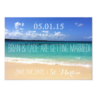 Wedding Save The Date 13 Cm X 18 Cm Invitation Card