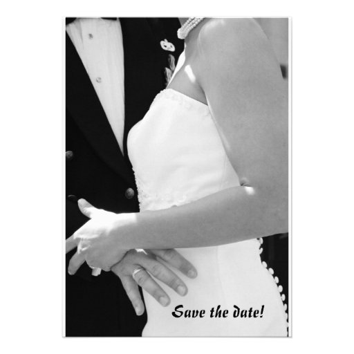 Wedding: Save the date Invitations