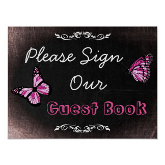 Wedding Sign, Please Sign our Guestbook