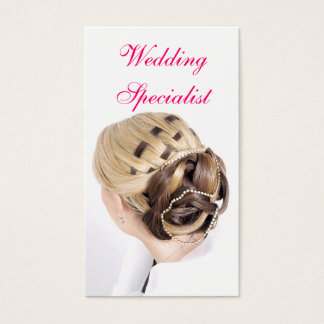 Wedding Specialist Business Card