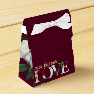 Wedding Tent Favour Box