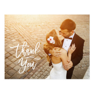 Wedding Thank You Cards Photocards Rustic Unique Postcard