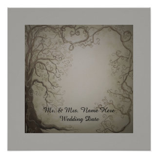 Wedding Tree Guest Book print